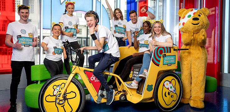 BBC Children in Need Rickshaw Challenge (c) BBC