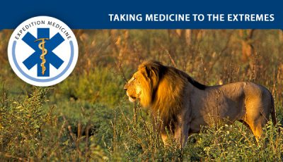 Conservation medicine conference - Namibia