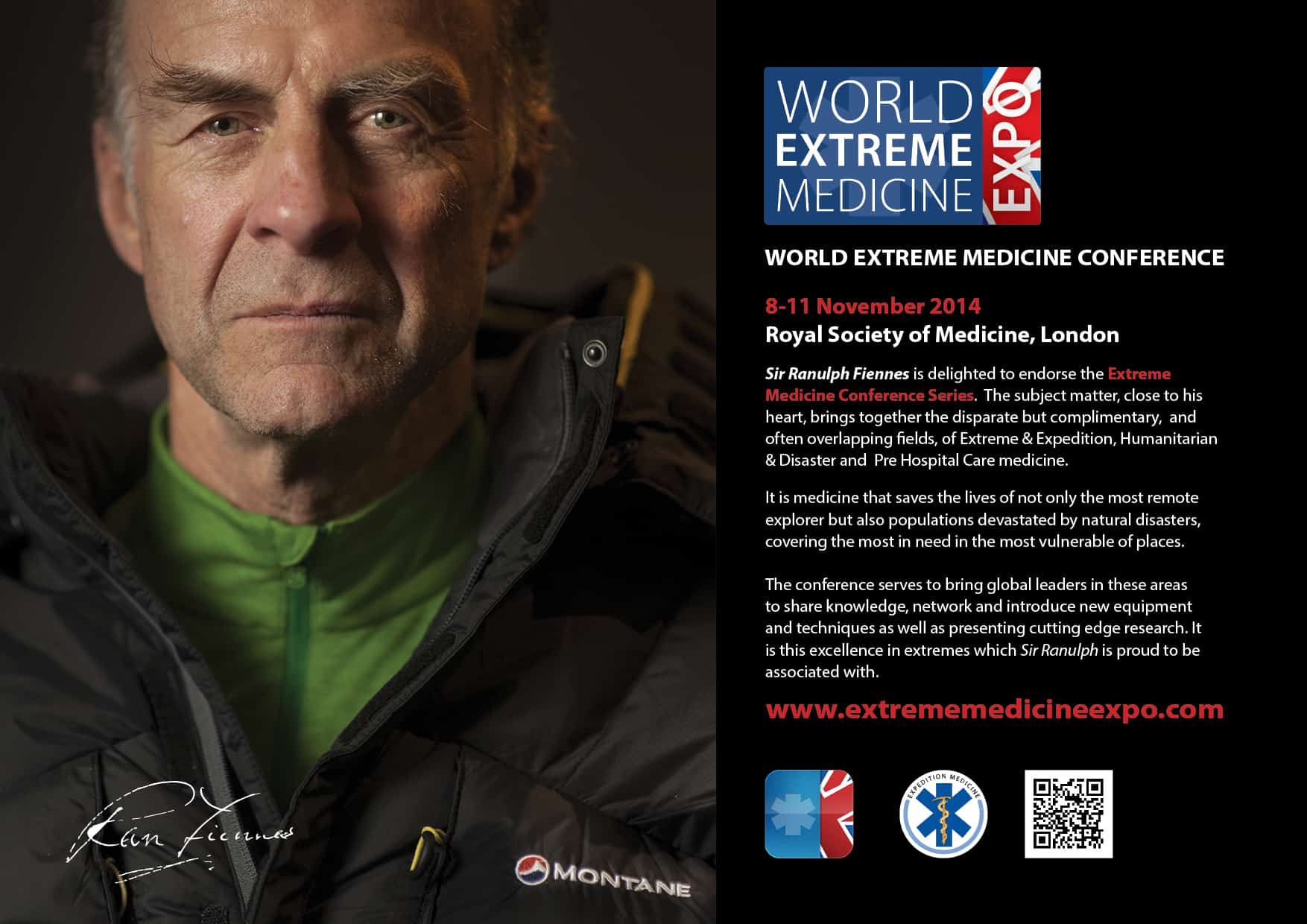 Sir Ranulph Fiennes and Extreme Medicine
