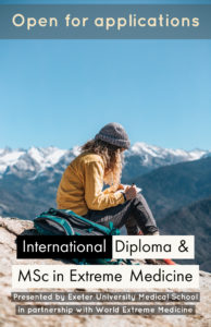 Diploma in Expedition and Extreme Medicine