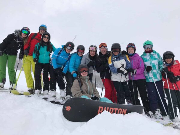 Eddie the Eagle shares life lessons with WEMski medics in the Italian Alps
