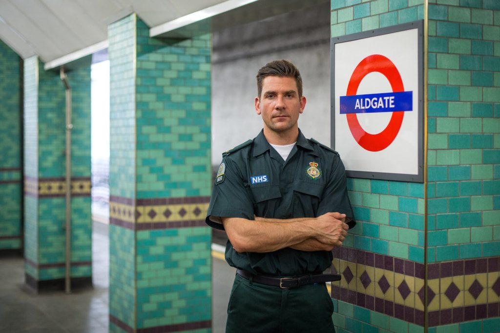 London HEMS Paramedic Eoin Walker