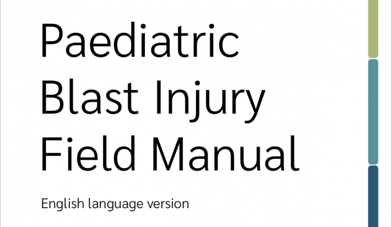 Paediatric Blast Injury Field Manual